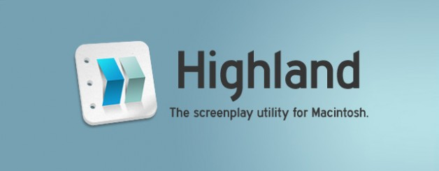 Highland, the Screenplay Editor Officially Launches