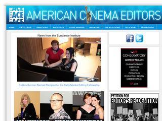American Cinema Editors Society