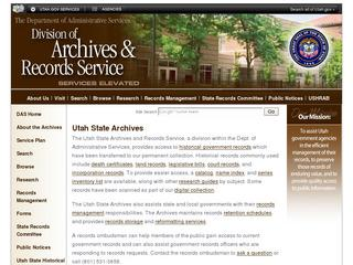 Utah State Archives
