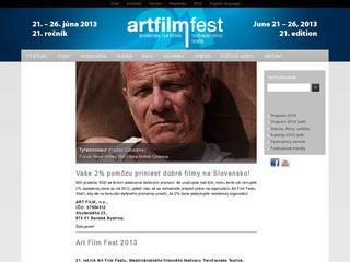 Art Film Festival Trencianske Teplice