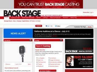 Open Casting Calls