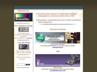 Broadcast Video Crew Directory