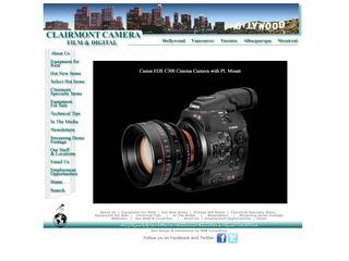 Calirmont Los Angeles (camera rentals)