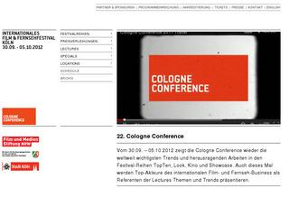 Cologne Conference – International Television and Film Festival