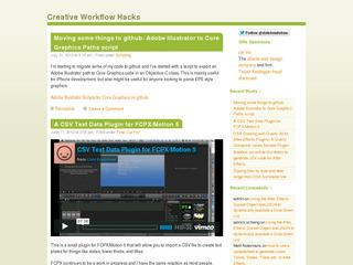 Creative Workflow Hacks