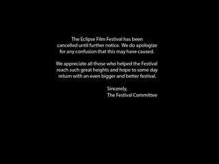 Eclipse Film Festival