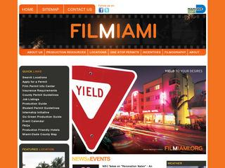 Miami – Dade Mayor's Office Of Film Ent.