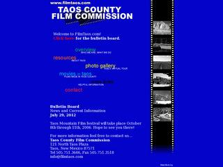 Taos County Film Commission