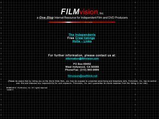 Filmvision.com Free Crew Listings