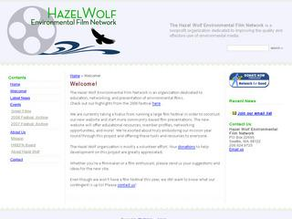 Hazel Wolf Environmental Film Festival