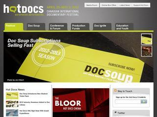 Hot Docs Canadian International Documentary Festival