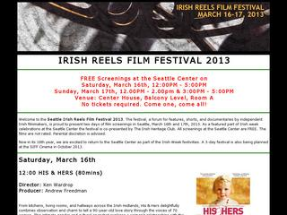 Irish Reels Film Festival