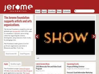 The Jerome Foundation
