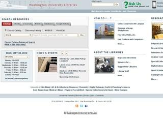Washington University Library: University Archives