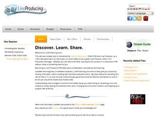 Line Producing.com
