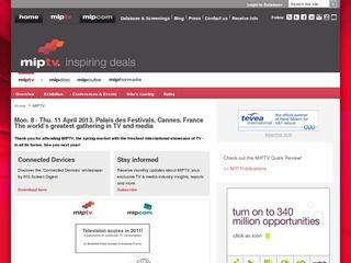 MIP TV International Television Program Market