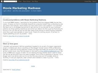Movie Marketing Madness