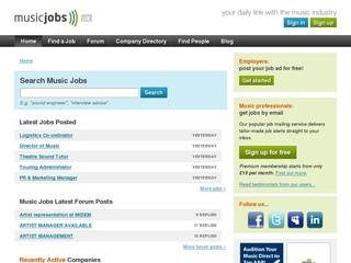 Music Jobs.com