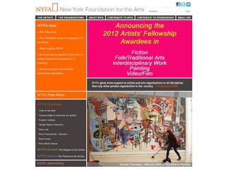 NYFA's Jobs in the Arts