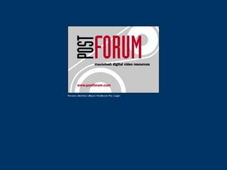 Post Forum
