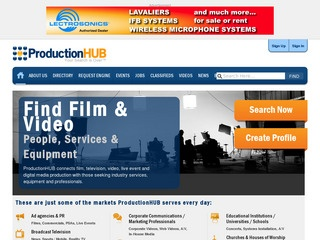 Production Hub – Post Production links