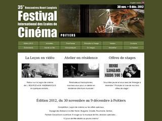 Poitiers International School Film Festival
