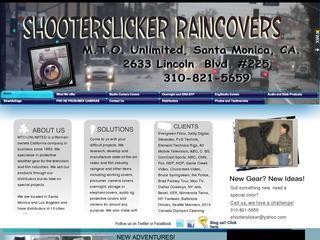 Shooter Slicker Raincovers