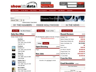 ShowBIZ Data – Entertainment Job Board