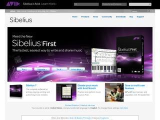 Sibelius Music Notation Software
