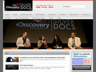 SILVERDOCS: AFI/Discovery Channel Documentary Festival