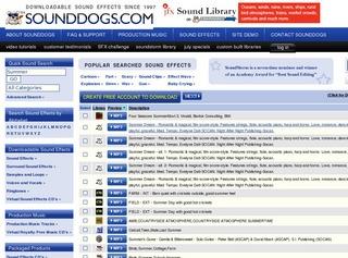 Sound Dogs (sound fx)