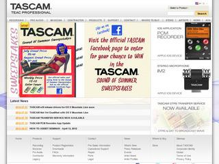 TASCAM (audio equipment)
