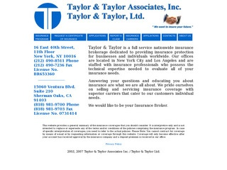 Taylor & Taylor Insurance