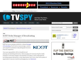 TV Spy Job Bank
