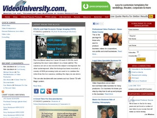 Video University (articles, guides, handbooks)