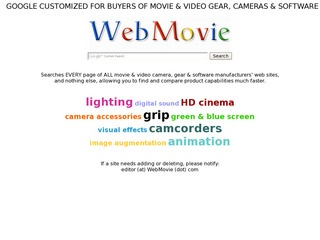WebMovie – web guide for movie producers