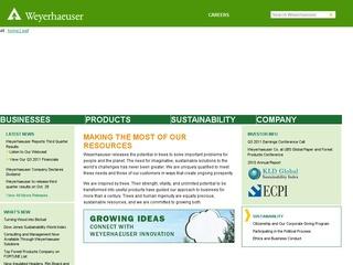 Weyerhaeuser Company Archives