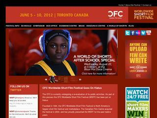 Canadian Film Centre's Worldwide Short Film Festival
