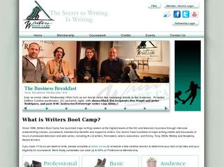 Writers Boot Camp