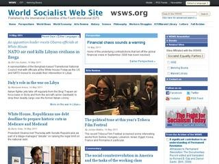 World Socialist Web Site
