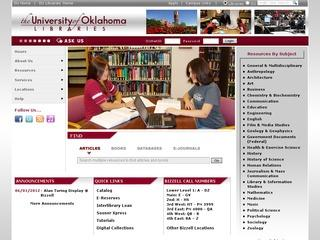 University of Oklahoma, Western History Collections
